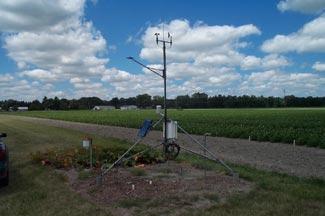 Enviroweather weather station at Saginaw (2000 - 2008), MI