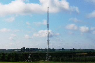 Enviroweather weather station at Sparta 20m Tower, MI