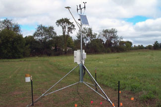 Enviroweather weather station at Stephenson, MI