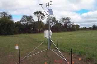Enviroweather weather station at Stephenson, MI