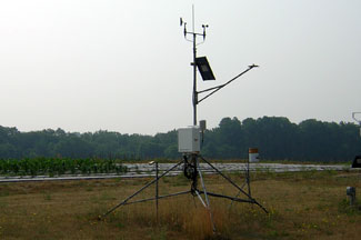Enviroweather weather station at Benton Harbor (SWMREC), MI
