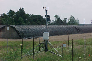 Enviroweather weather station at West Olive, MI