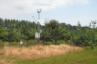 Enviroweather weather station at West Jacksonport, WI