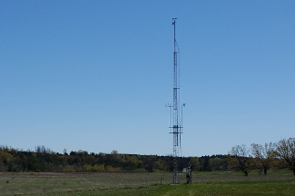 Enviroweather weather station at Williamsburg 20m Tower, MI